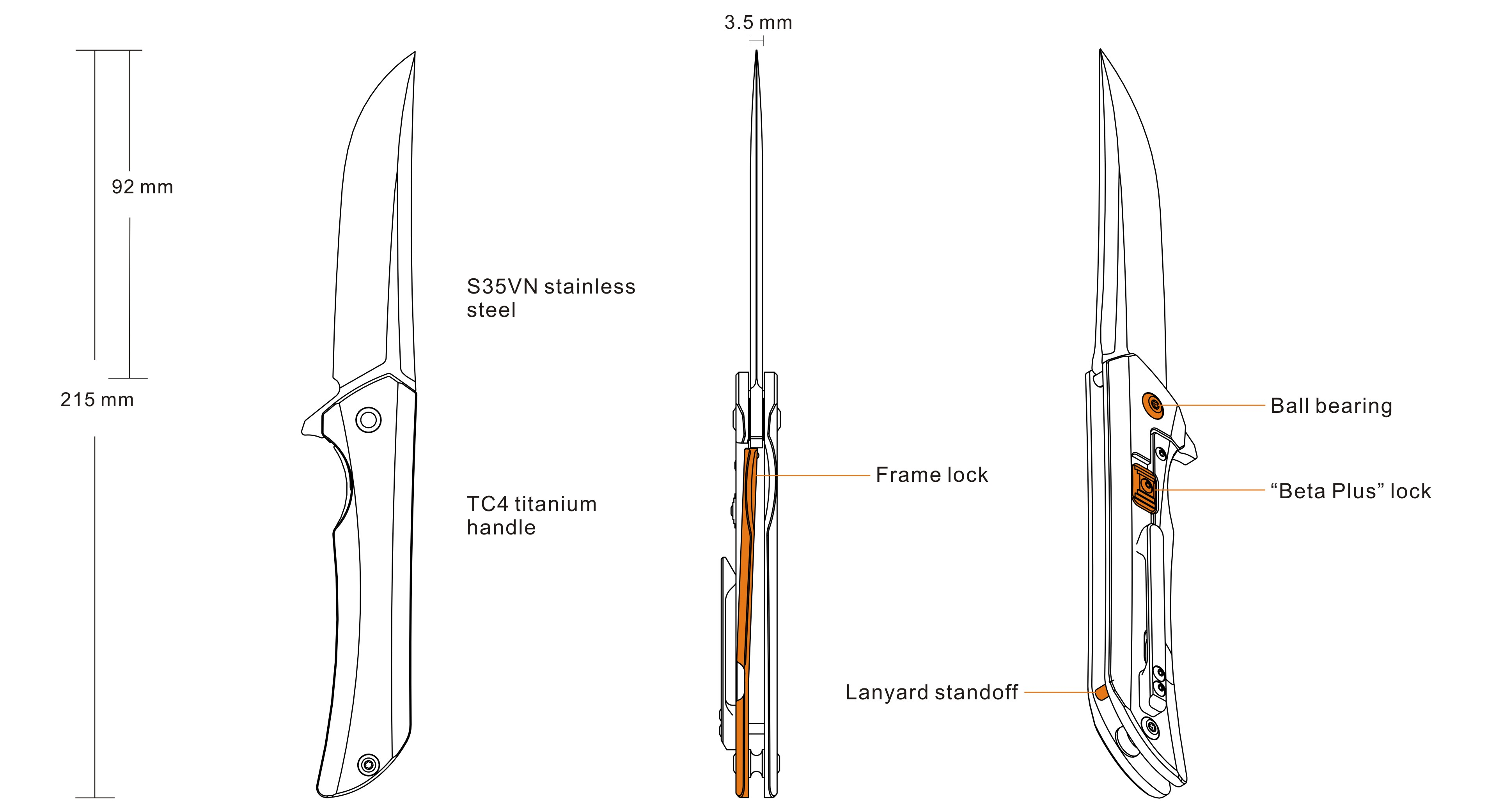 Hussar M121-TZ - Knives and Tools